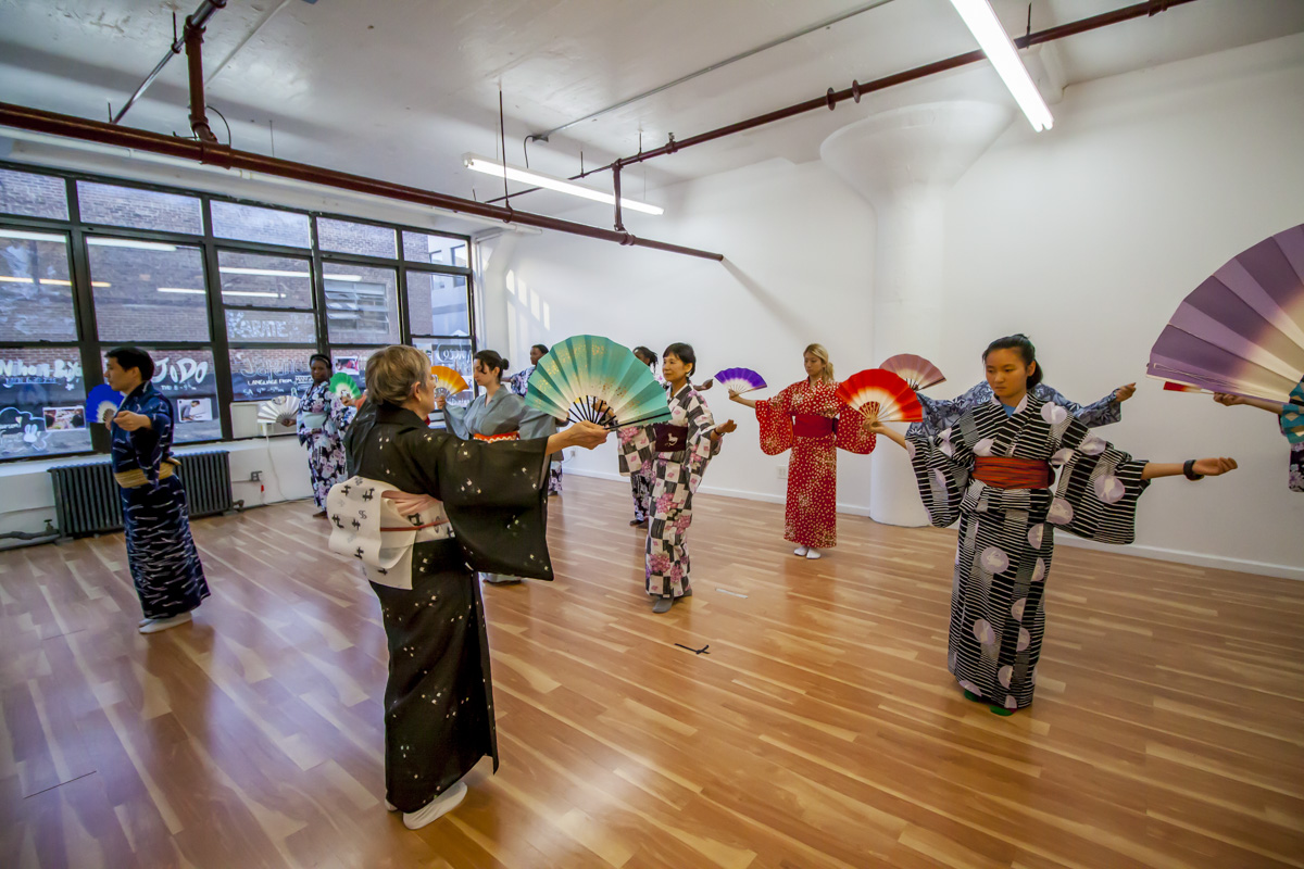 Nihonbuyo dance class at RESOBOX, Mondays, 6:30pm