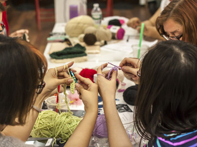 Crochet & Amigurumi-Making Tuesdays, 7-9PM Kids' Class: Thursdays, 4-5:30pm