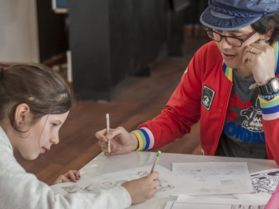 Anime Drawing for Kids Wednesdays, 4-5pm