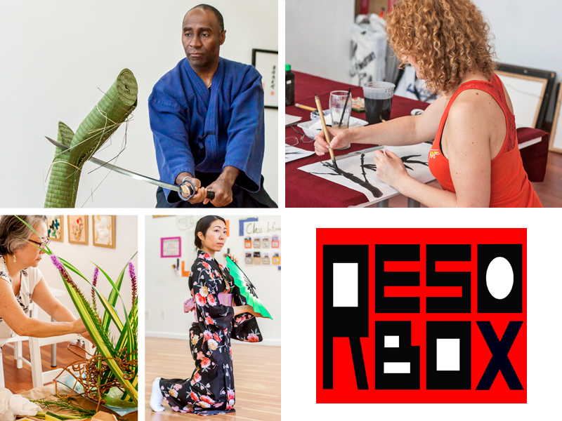 Japanese culture classes at RESOBOX in Long Island City, Queens