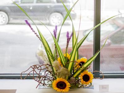 Ikebana (Flower Arranging) Saturdays, 10-11:30am