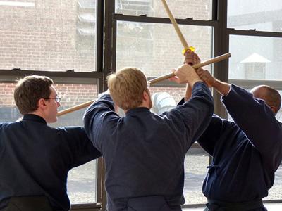 Jodo (Stick Fighting) Thursdays, 8-9:15pm