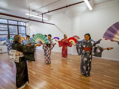 Nihonbuyo (Japanese Classical Dance) Mondays, 6:30-7:45pm