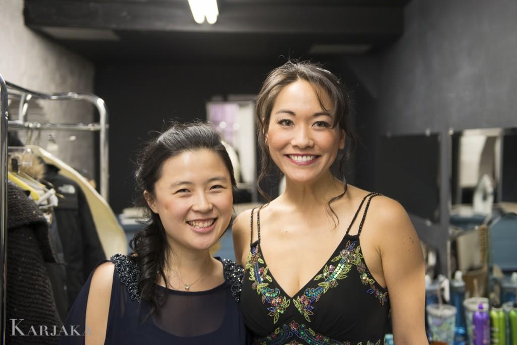 Eunbi Kim (left) and Laura Yumi Snell (right)