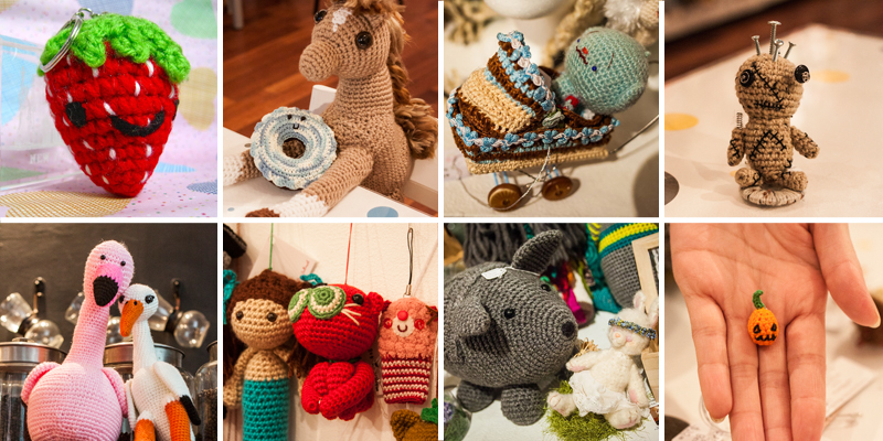Amigurumi class at RESOBOX Gallery in Queens