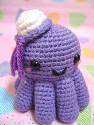 Amigurumi octopus from RESOBOX amigurumi class