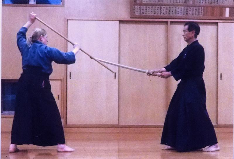 Deborah Klens Bigman jodo-training