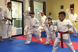 Kids' karate at RESOBOX