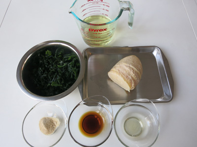 Wakatakeni ingredients