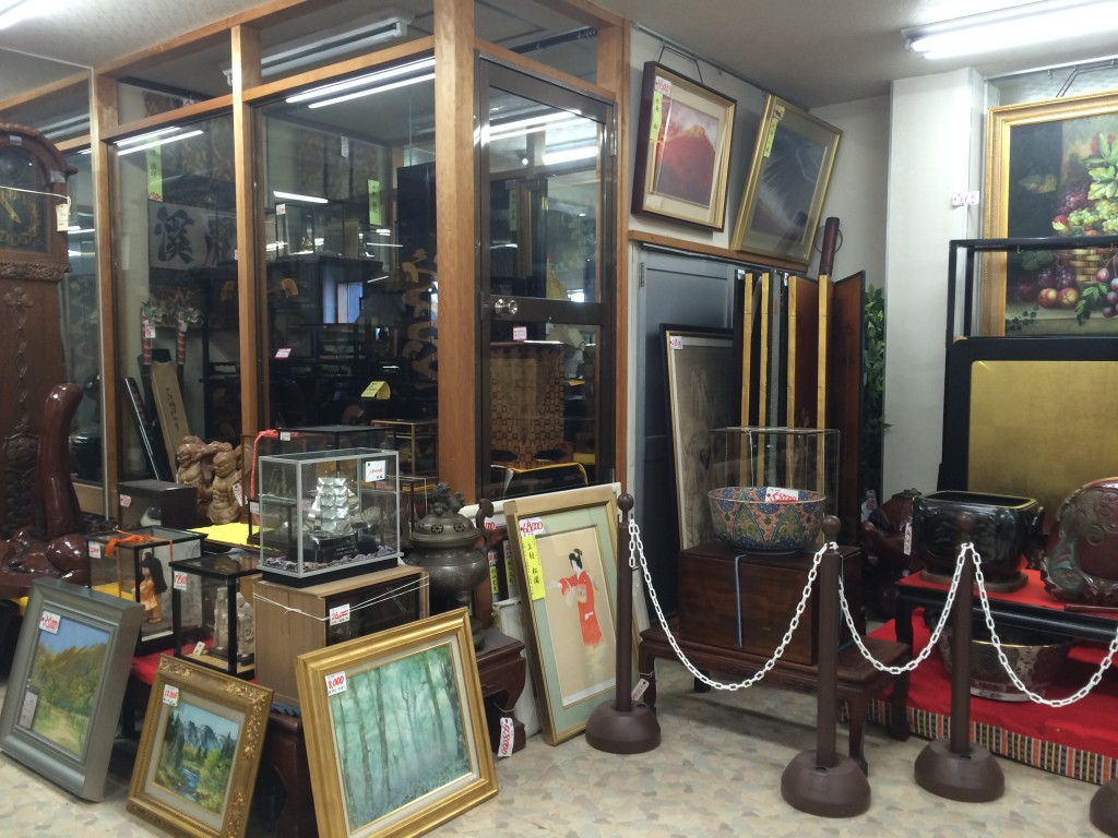 Antique shop in Japan