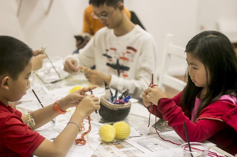 Kids' Crocheting Class at RESOBOX: Every Tues, 4-6pm