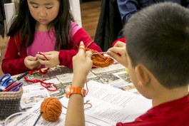 Crocheting isn't just for grannies! Girls and boys of all ages can enjoy this craft.