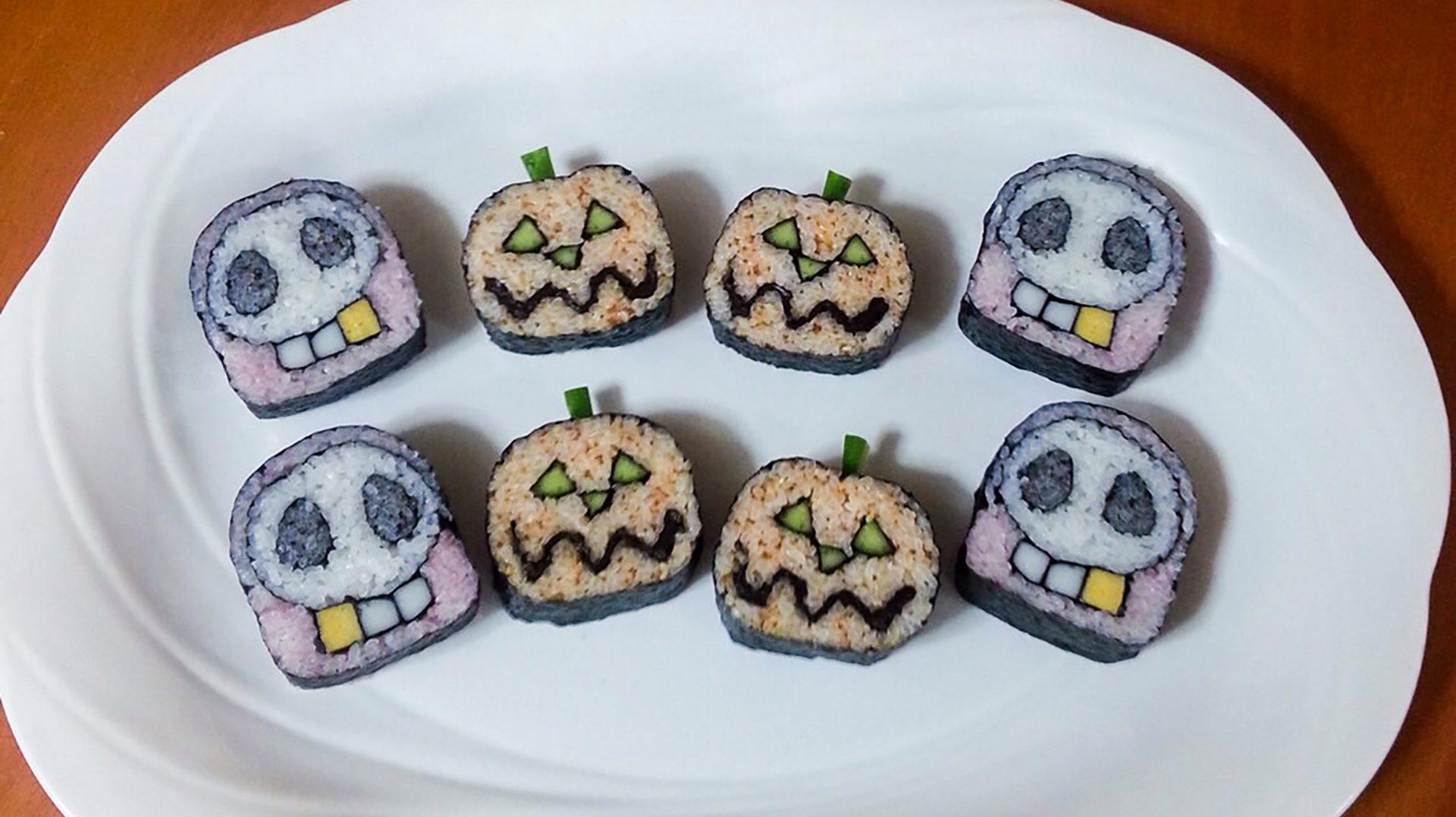 Halloween Costume Sushi
