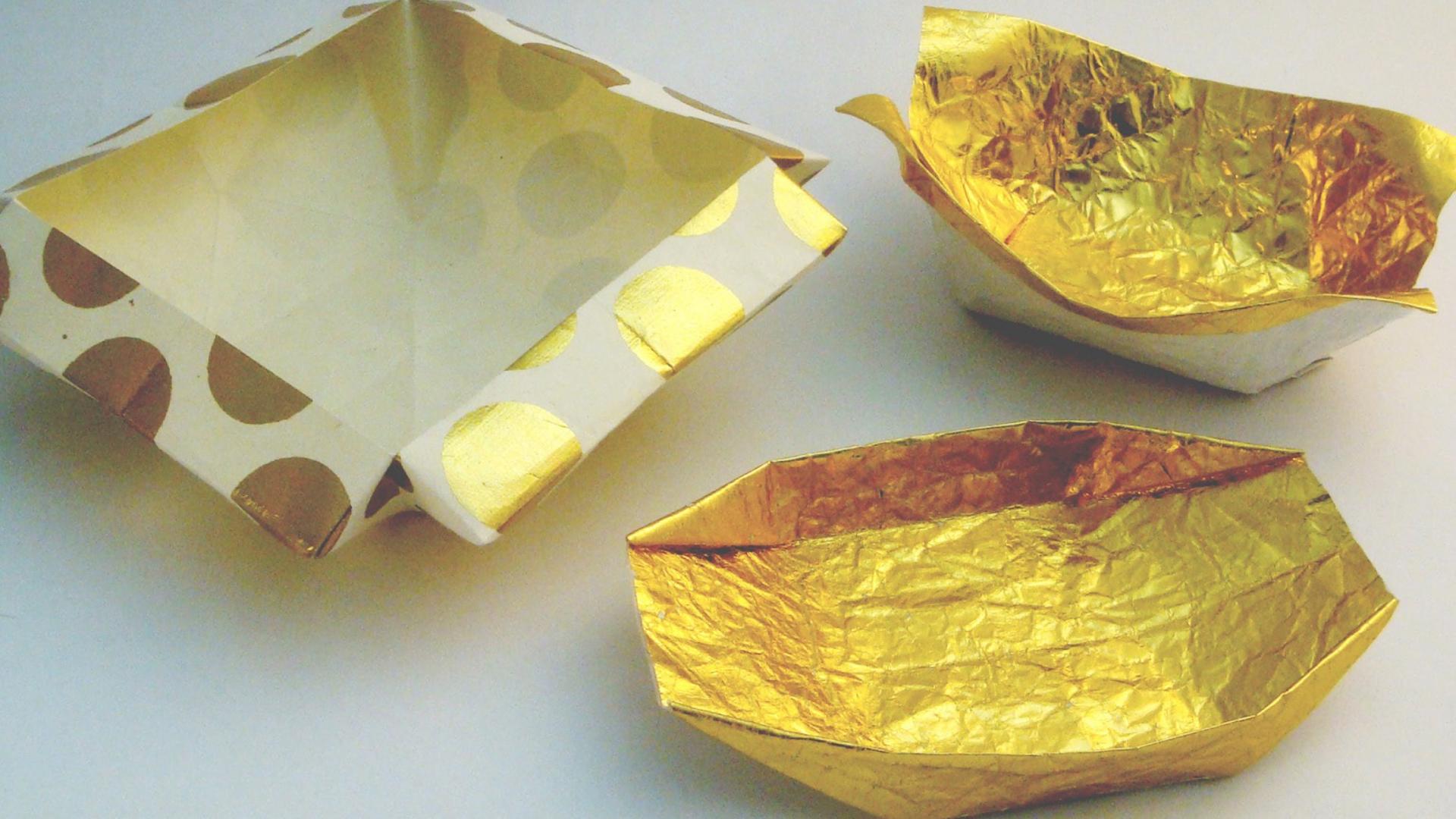 Origami Workshop 3 Origami Bowls