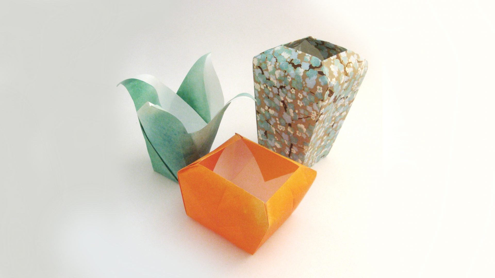 origami workshop 9 � decorative origami vases