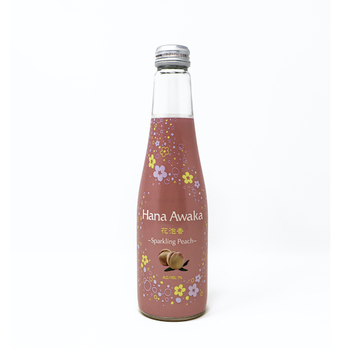 Peach hanaawaka sake